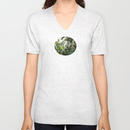 Dancing Flowers Unisex V-Neck