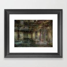 Corners of Your Mind Framed Art Print
