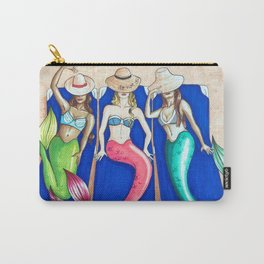 Sunbathing Mermaids Carry-All Pouch