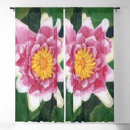 Water Lily Blackout Curtain