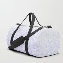 She Sparkles - Pastel Purple Glitter Marble Duffle Bag