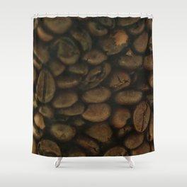 Coffee pattern, fine art photo, Coffeehouse, shops, bar & restaurants, still life, interior design Shower Curtain