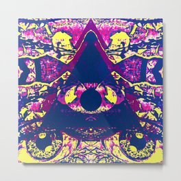 Psychedelic Night Metal Print