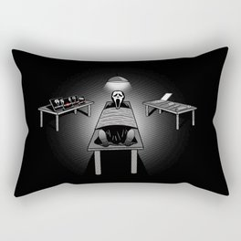 Dexter's Latest Catch Rectangular Pillow