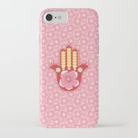 hamsa iPhone & iPod Cases featuring Hamsa by Moirarae