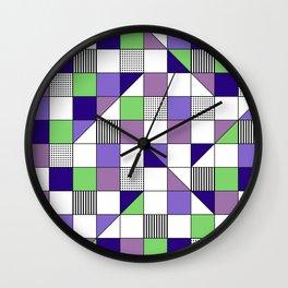 Dots & Lines 2 Wall Clock