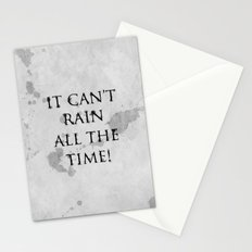 It Can't Rain All The Time. Stationery Cards