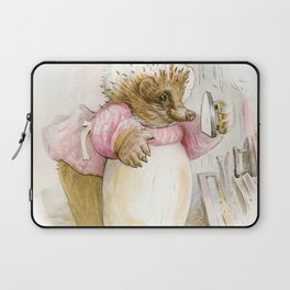 Mrs Tiggywinkle Laptop Sleeve