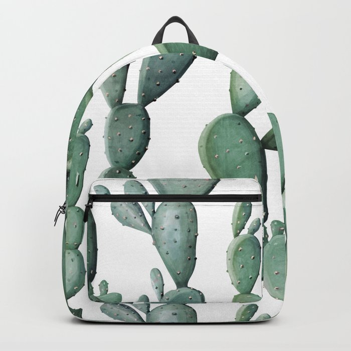 Cactus Bunch Green Backpack