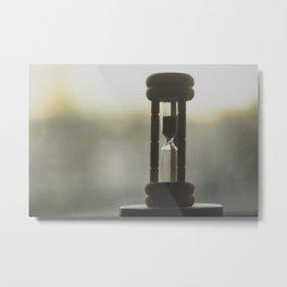Time is inevitable  Metal Print