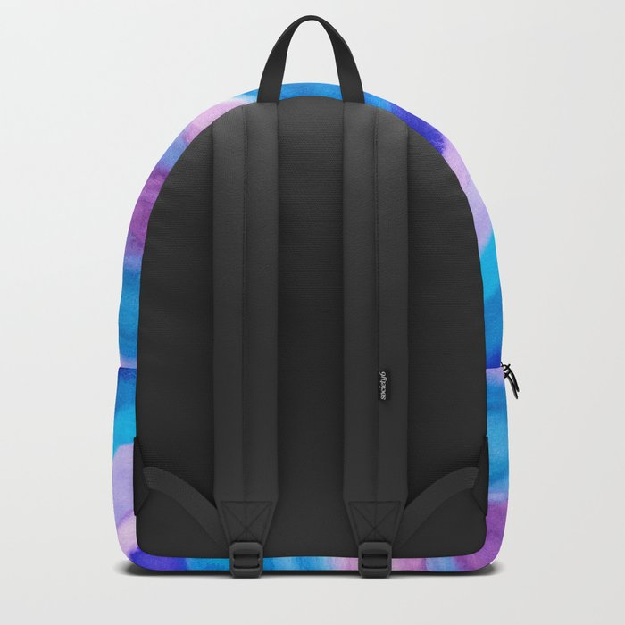 AGATE Inspired Watercolor Abstract 11 Backpack