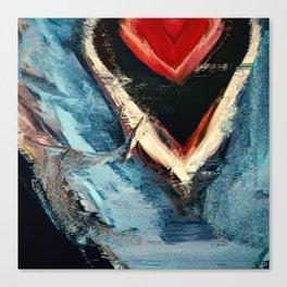 Winter Heart Canvas Print