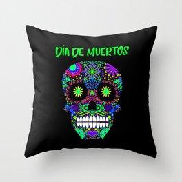Sugar Skull 1 Throw Pillow