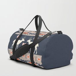 Romantic deer Duffle Bag