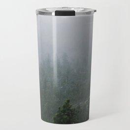 Foggy Emerald Bay Travel Mug