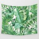 Green tropical leaves III by catyarte