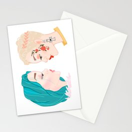 Two Halseys Stationery Cards