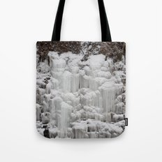 Ice Falls Tote Bag