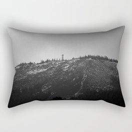 Black Butte Rectangular Pillow