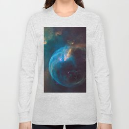 NGC 7635 Bubble Nebula Long Sleeve T-shirt