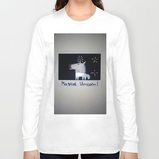 Magical Unicorn! Long Sleeve T-shirt