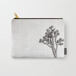 Joshua Tree in Black & White Carry-All Pouch