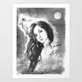 Next Level Constellation Art Print