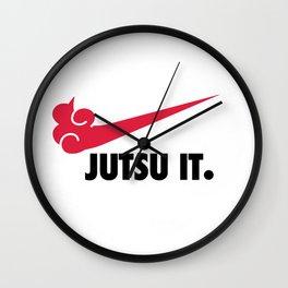 Jutsu It Wall Clock