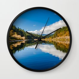 Rogue River Afternoon Wall Clock