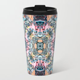 City In A Circle Travel Mug