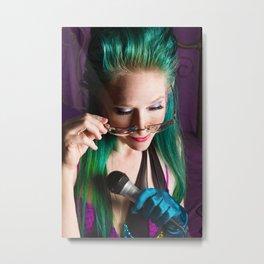 Music Photography - Homage to PRINCE Metal Print