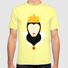 Mirror Mirror Mens Fitted Tee Lemon SMALL