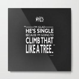 Like A Tree Metal Print