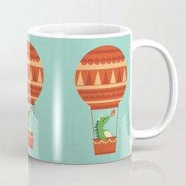 Dragon On Hot Air Balloon Coffee Mug