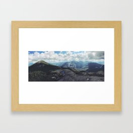 High Peaks Adirondacks Framed Art Print