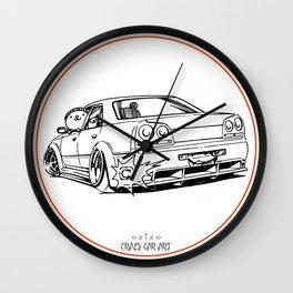 Crazy Car Art 0215 Wall Clock