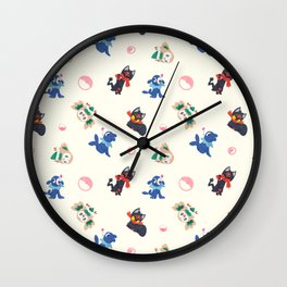 Alolan Starters Wall Clock