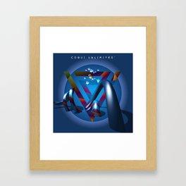 Color me Framed Art Print