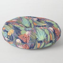 Modern Cactus Print Floor Pillow