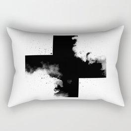 Across the shadow Rectangular Pillow
