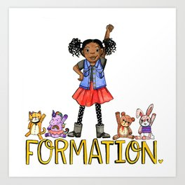 Formation Art Print