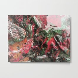 Cosmic Force (Detail Two) Metal Print