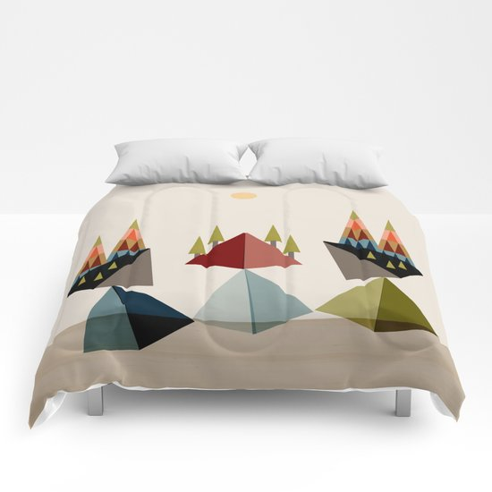 Rocky Path Comforters
