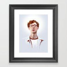 Erlend Øye, Kings of Convenience / The Whitest Boy Alive Framed Art Print