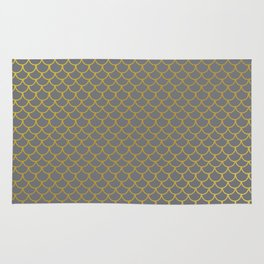 Golden Scales Rug