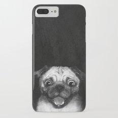 Snuggle pug iPhone 7 Plus Slim Case