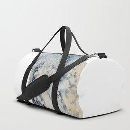Watercolor Cormorant Painting Duffle Bag