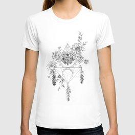 Death's Head Hawk Moth Totem T-shirt