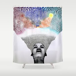 Infinite Potential Shower Curtain