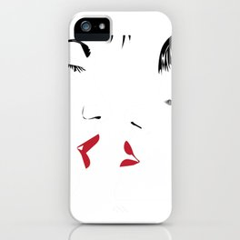 Kiss iPhone Case